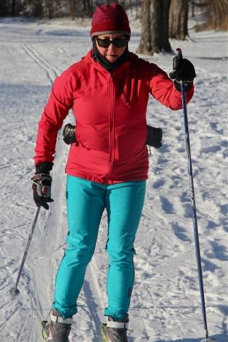 Cold Christmas Ski
