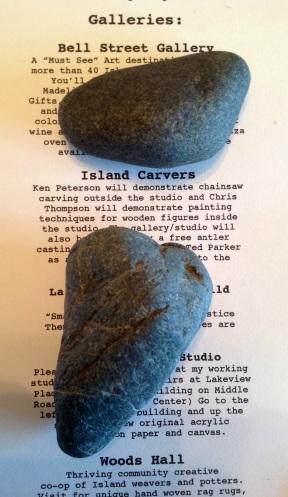 rocks to let go...