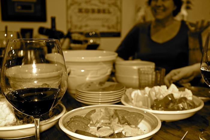 fondue spread
